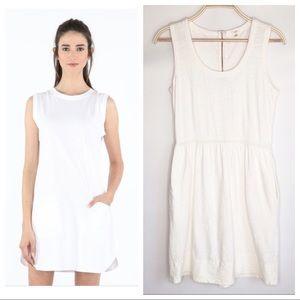 J. Crew Cotton Knit Dress with Pockets 🌺